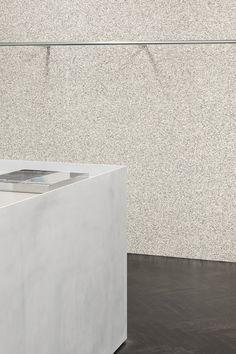 Collage The Shop in Illum Copenhagen by Studio David Thulstrup, Photo by Irina Boersma. Interior Concept, Interior Design, Curved Walls, Aluminum Table, Neutral Tones, Retail Design, Copenhagen, Interior Architecture, Custom Design