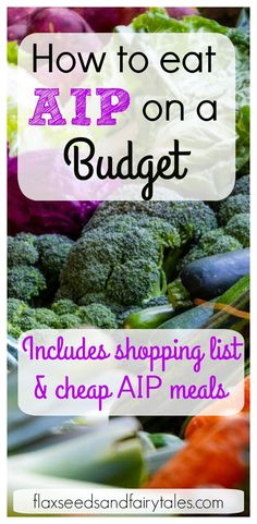 AIP on a Budget- The Best Tips for Eating AIP on the Cheap! AIP on a budget– possible? YES with the right tips! This guide will teach you the best ways to use meal planning, shopping lists, and cheap paleo recipes to save money on the autoimmune protocol. Ketogenic Diet Meal Plan, Diet Meal Plans, Ketogenic Recipes, Diet Recipes, Auto Immune Paleo Recipes, Best Paleo Recipes, Dessert Recipes, Paleo Meal Plan, Jam Recipes