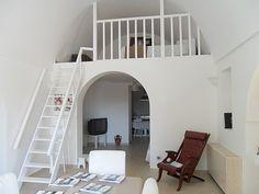 Space saving Mezzanine bedroom