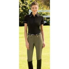 Great durable, full seat breeches at a very reasonable cost.