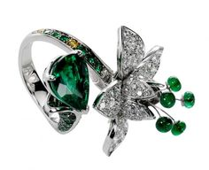 Boucheron has jewelry you will only see once in a while at a special gala in new York.