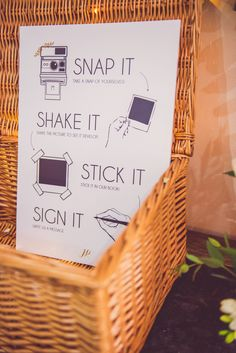 Photobooth - Stephanie Allin 'Lottie' | Elegant Botanical Wedding | Oldwalls Gower Wedding Venue | Nick Murray Photography