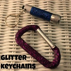 Craft A Spell: Glitter Key Chains