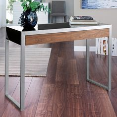Dwell Steel Console Table