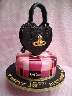 Westwood handbag  Cake by RockCakes