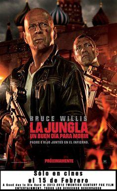 """""""La jungla: un buen día para morir"""" con Bruce Willis, próximo estreno en el cine de Huetor Tajar"""