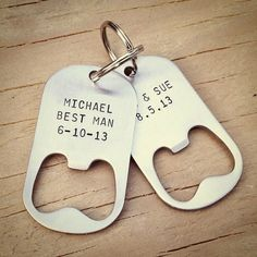 Wedding favours for groomsmen - great #wedding favour idea spotted online by the…