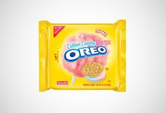 Cotton Candy Oreos Are Coming to Target---What a clever idea! Such a summer treat! You won't have to go to the fair to get your cotton candy treat! Not as messy either!