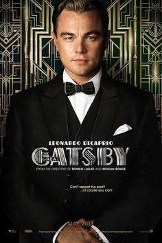 Leonardo DiCaprio as Jay Gatsby in