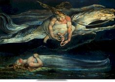 William Blake - Sterbende