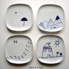 Resultado de imagen de bandejas ceramica artesanal