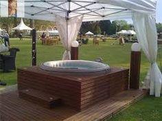 my pergola and lay z spa yard pinterest hot tubs pergolas and ideas. Black Bedroom Furniture Sets. Home Design Ideas