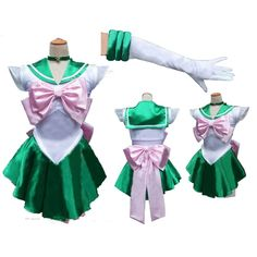 s Anime Jolie Soldier Sailor Moon Sailor Jupiter Japonais Anime Cosplay Costume femme halloween party Toute Taille Sailor Moon Jupiter, Sailor Moon Kostüm, Sailor Jupiter Costume, Sailor Neptune, Sailor Moon Cosplay, Cosplay Outfits, Cosplay Girls, Cosplay Costumes, Cheap Cosplay