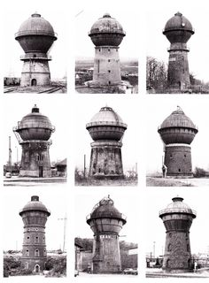 01. ARCHIVE ***************** [Bernd and Hilla Becher - 'Water Towers']