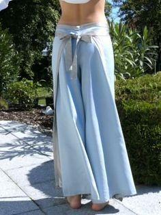 DIY Wrap pants tutorial