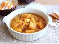Sweet Potato Sweet Soup with Osmenthus Flowers