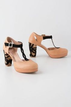 Nori T-Straps, Anthropologie.  These are fabulous!