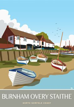 Burnham Overy Staithe available from White One Sugar from £12