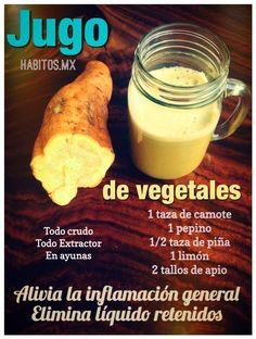 jugo de vegetales