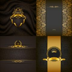 Ornate backgrounds with golden decoration vector 03 - https://gooloc.com/ornate-backgrounds-with-golden-decoration-vector-03/?utm_source=PN&utm_medium=gooloc77%40gmail.com&utm_campaign=SNAP%2Bfrom%2BGooLoc