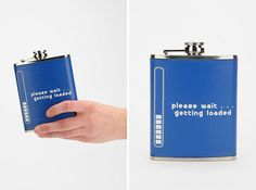 It's a tech pun that involves getting loaded? What a genius flask.