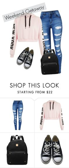 """""""Weekend Getaway"""" by cookie2314 on Polyvore featuring WithChic and Converse"""