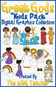 Greek gods Kids Custom Graphics Set!!