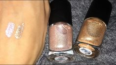 Make Up For Ever Star Lit liquids in 02 & 03