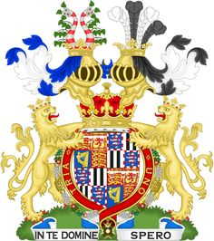 Coat of arms of Alexander Albert Mountbatten, 1st Marquess of Carisbrooke, (born Prince Alexander Albert of Battenberg) His father was Prince Henry of Battenberg, the son of Prince Alexander of Hesse and by Rhine and Julie Therese née Countess of Hauke. His mother was Princess Henry of Battenberg (née The Princess Beatrice), the fifth daughter and the youngest child of Queen Victoria and Prince Albert.