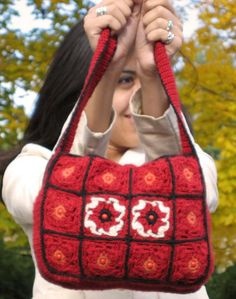"""Free pattern for this Cute """"Shoulder Bag""""!"""