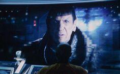 Leonard Nimoy cameo - Star Trek Into Darkness