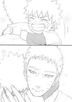 Aww part 5 Little Naruto and Adult Naruto Sarada E Boruto, Naruto Shippuden Sasuke, Narusaku, Sasunaru, Hinata, Comic Naruto, Naruto Anime, Naruto Cute, Vampire Knight