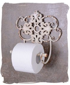 Shabby chic  TOILET PAPER HOLDER WHITE TOILET ROLL HOLDERS SHABBY CHIC TOILET ROLL HOLDER | eBay