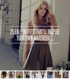 25 Fall #Outfits That'll Inspire Your Own #Wardrobe ...