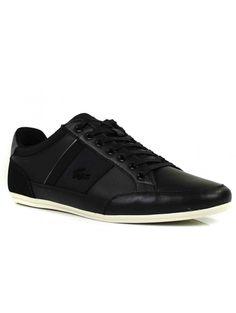 Chaussures Chaymon Lacoste Noir Pour Les Hommes 6WCF7Cp