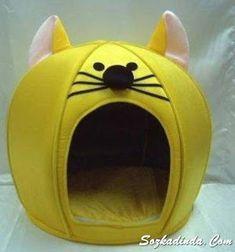 Kadin, Moda, Sağlık, Örgü, Hobi SözKadinda.Com: Keçeden kedi köpek evleri Ergonomik tasarım