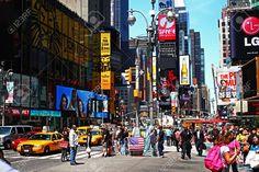 Time Square e i suoi magnifici colori, New York