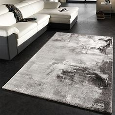Amazon.de: Shaggy Hochflor Langflor Teppich Sky Einfarbig In Grau,  Grösse:120x170 Cm | Adrian | Pinterest | Shaggy