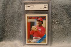 Coleman Vince 1988 Topps baseball card 260 rated 10 by GooseyLucy