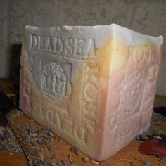 Mud soap with Lavender and Pink Clay  from France