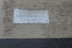 cabinetmakers sign