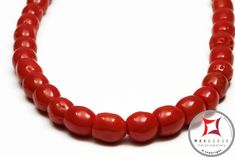 Mediterranean Red Coral Necklace snake barrel 6-8mm graduated in Gold 18K  Collana Corallo rosso del Mediterraneo barilotti snake graduati 6-8mm in Oro 18K  #corallo #corallotorredelgreco #corallorosso #genuinecoral #redcoral #jewelery #luxury #trend #fashion #style #italianstyle #lifestyle #gold #silver #store #collection #shop #shopping #showroom #mode #chic #love #loveit #lovely #style #beautiful #pretty #madeinitaly #bestoftheday #necklace #necklaceforsale