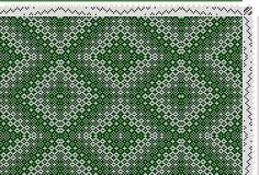 Hand Weaving Draft: kw026, Crackle Design Project, 6S, 6T - Handweaving.net Hand Weaving and Draft Archive