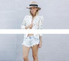 The Kooples, Promod, Zara - FLOWERSUMMER// - FAUSTINE LOUCHET
