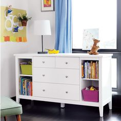 Our Blake Furniture Collection is modest, good looking and well put together. In other words, it's everything you want in a kid's room. Fresh take on a classic design. Clean lines and understated angles. Modern look and effortless style are a good influence on the whole room.