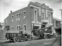 Ipswich Fire Station, Brisbane Street, Ipswich, 1920 Ipswich Qld, Brisbane Queensland, Queensland Australia, Queenslander, Empire Style, Historical Architecture, Sunshine State, Throwback Thursday