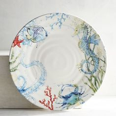 Under the Sea Dinner Plate | Pier 1 Imports
