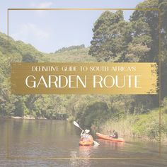An in-depth Guide to the Garden Route in South Africa. Multiple maps included with various routes. George South Africa, South Africa Map, Garden Route, Once In A Lifetime, Africa Travel, Beautiful Places, Places To Visit, Journey, City