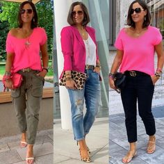 Mom Outfits, Classy Outfits, Chic Outfits, Fashion Outfits, Pink Blazer Outfits, Looks Chic, Casual Looks, Casual Chic, Summer Outfits Women Over 40