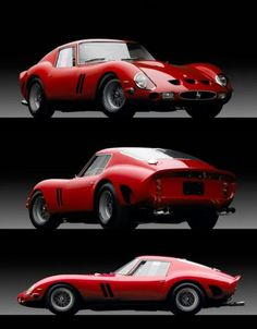 Ferrari 250 GTO. One of the most beautiful cars ever built. Very rare, very collectible, and very expensive.